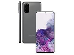 Kit Smartphone Samsung Galaxy S20 Cinza e Caixa de Som LG XBoom PL22 - 1