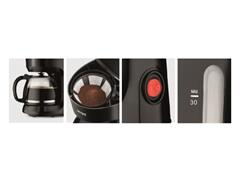 Cafeteira Elétrica Lenoxx Grand Coffee Black 30 xícaras - 1