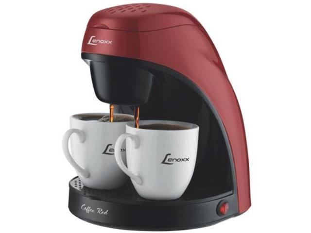 Cafeteira Eletrica Lenoxx Red Coffee 2 Xícaras