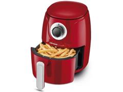 Fritadeira Elétrica Sem Óleo Lenoxx Easy Fryer Red 1000W