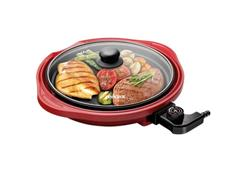 Grill Multifuncional Lenoxx Life Red 1250W