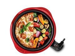 Grill Multifuncional Lenoxx Life Red 1250W - 3