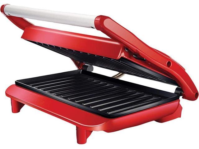 Grill Lenoxx Panini Inox Red 850W