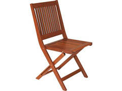 Cadeira Dobrável Tramontina Fitt Madeira Jatobá