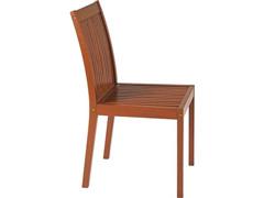 Cadeira sem Braço Tramontina Terrazzo Fitt Madeira - 1
