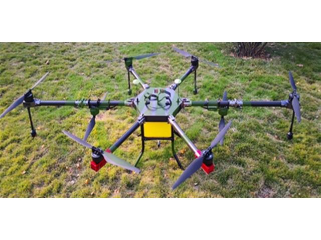 Drone Joyance Pulverizador Agrícola 4 Bicos Eletrostáticos 15 Litros