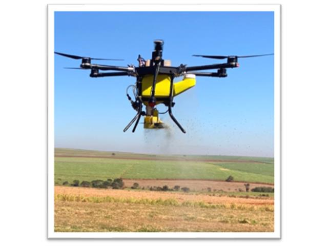 Drone Joyance Dispenser de Trichogramma