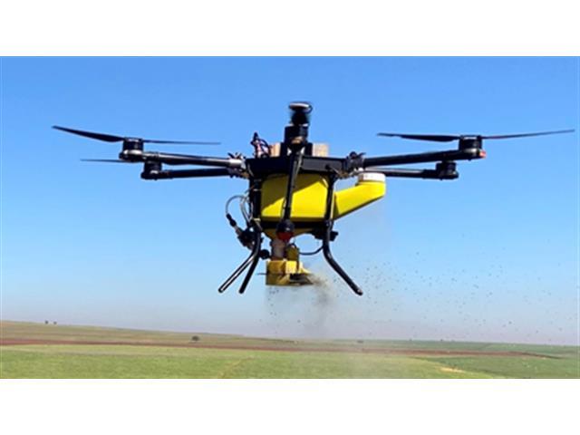 Drone Joyance Dispenser de Grãoes e Sementes