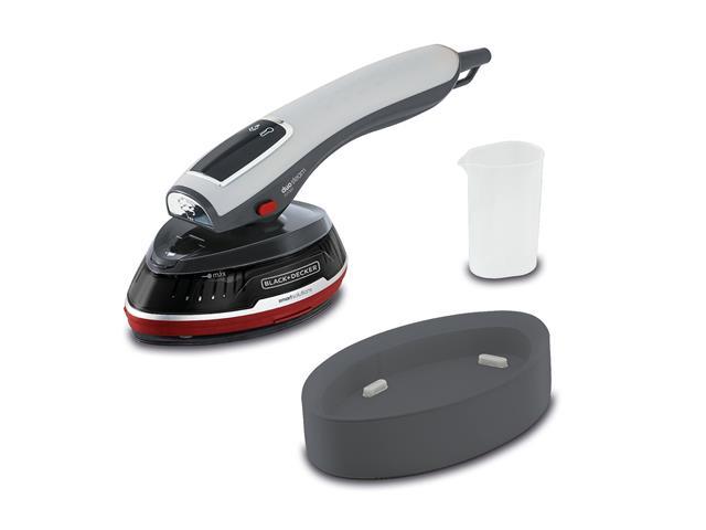 Ferro de Passar e Vaporizador Black&Decker Digital Touch 1000W