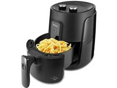 Fritadeira Elérica Philco PFR15P Air Fry Gourmet Black 1500W 110V
