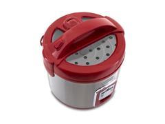 Panela de Arroz Elétrica Britânia Glass Cooker Vermelha - 1