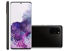 Kit Smartphone Samsung Galaxy S20+ Preto e Caixa de Som LG XBoom PL22 - 4