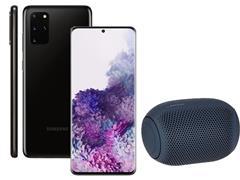 Kit Smartphone Samsung Galaxy S20+ Preto e Caixa de Som LG XBoom PL22
