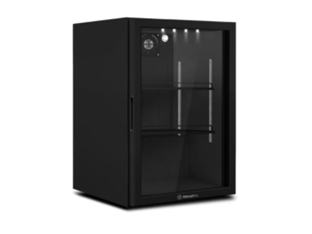 Refrigerador Metalfrio Counter Top All Black VB11RL 97 Litros