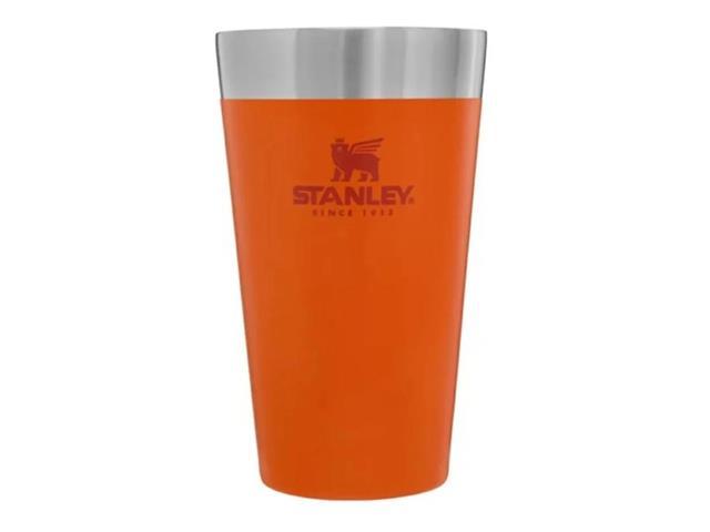 Copo Térmico de Cerveja Stanley sem Tampa Laranja 473ML