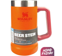 Caneca Térmica de Cerveja Stanley Inox Laranja 709ML - 0