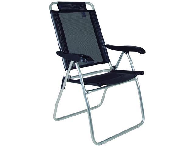 Cadeira Reclinável Mor Boreal Preta