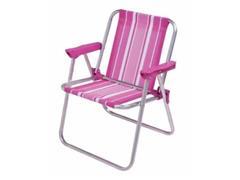 Cadeira de Praia Mor Rosa Infantil