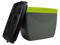 Caixa Térmica Mor 18 Litros Cinza com Verde