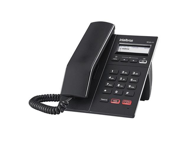 Telefone IP Intelbras TIP 125i Preto
