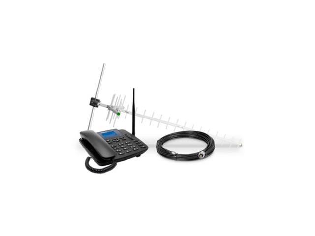 Kit Telefone Celular Fixo 3G Intelbras CFA 6041 Preto