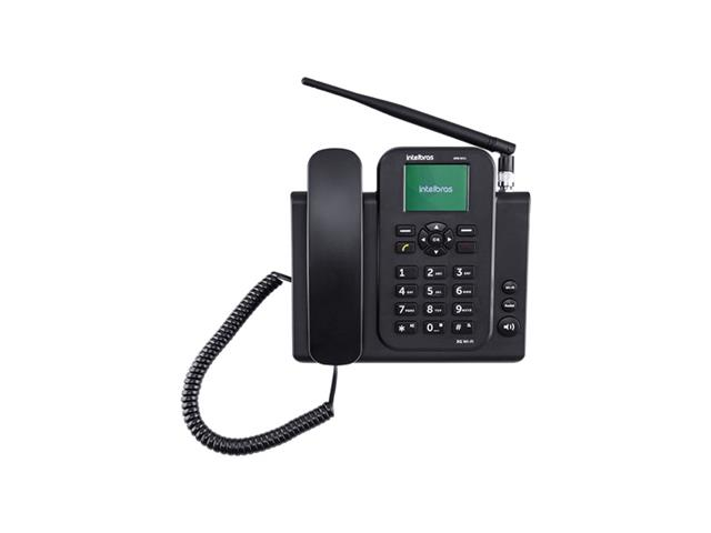 Telefone Celular Fixo 3G WiFi Intelbras CFW 8031 Preto