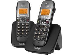 Combo Telefone sem Fio com Ramal Intelbras TS 5122 Preto