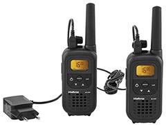Radio Comunicador Intelbras RC 4000 Preto Par - 1