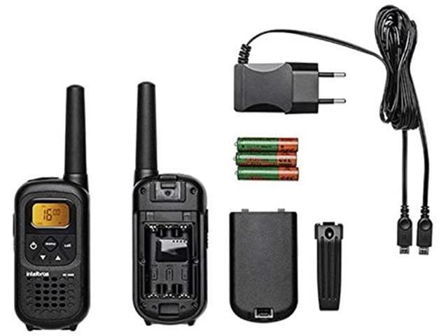 Radio Comunicador Intelbras RC 4000 Preto Par