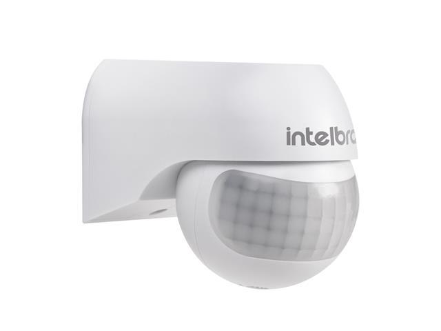 Sensor de presença para iluminação Intelbras ESP 180 Branco