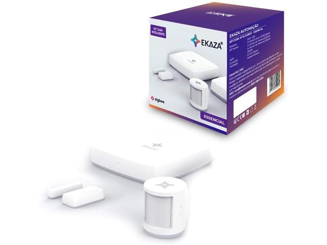 Kit Casa Inteligente Ekaza Smart Home Automação Essencial Básico 1