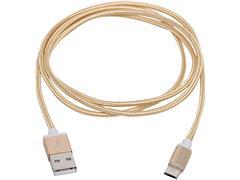 Cabo com Conector Philips Tipo USB para Micro USB Dourado 120CM - 4