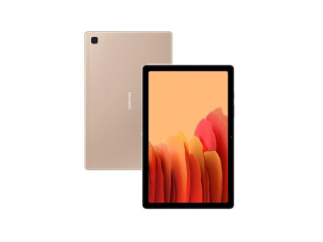 "Tablet Samsung Galaxy Tab A7 Wi-Fi 10.4"" 64GB 3GB RAM 8+5MP Dourado"