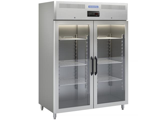 Refrigerador Tramontina Profissional Inox Portas de Vidro 220V