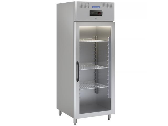Congelador Freezer Tramontina Profissional Inox 1 Portas de Vidro 220V