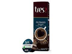 Cafeteira Lov Prata Semi Fosco 220v + 80 Cáps Café Filtrado Gourmet - 5