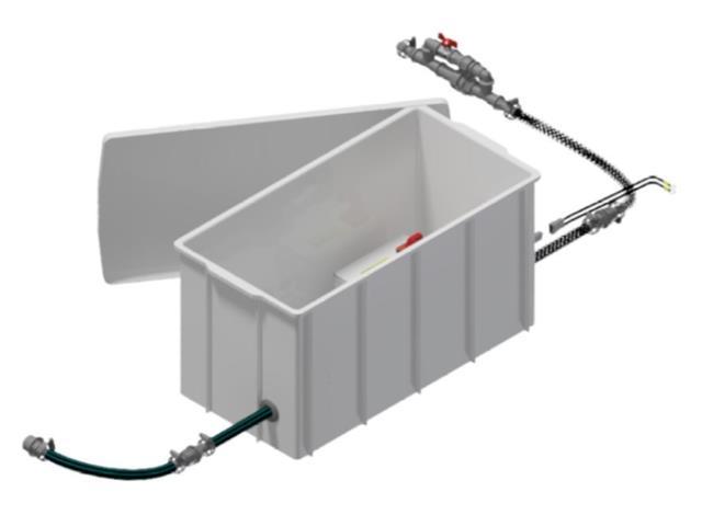 Sistema de Abastecimento para IBC Herbicat KA SAP 001 Quantofill