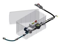 Sistema de Abastecimento para IBC Herbicat KA SAP 001 Quantofill - 1