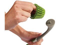 Pincel Multi Cerdas de Silicone Chef´N Freshforce Verde/Branco - 2