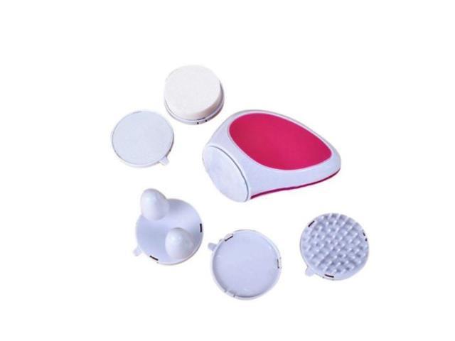 Escova Limpeza Facial Massageador Prana Scutti 5 Acessórios