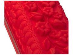 Forma de Silicone Bouquet Silikomart Vermelha - 1