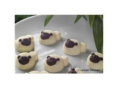 Forma de Silicone Silikomart Chocopanda para Chocolate - 1