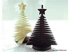 Forma de Silicone Silikomart 3D Árvore