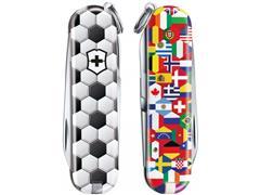 Canivete Victorinox Classic SD World of Soccer Edição Limitada 2020 - 2