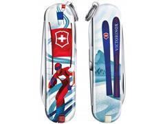 Canivete Victorinox Classic SD Ski Race Edição Limitada 2020 - 2