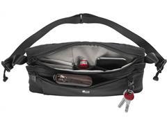 Bolsa Transversal Victorinox Lifestyle Compact Cross Body Preta - 3
