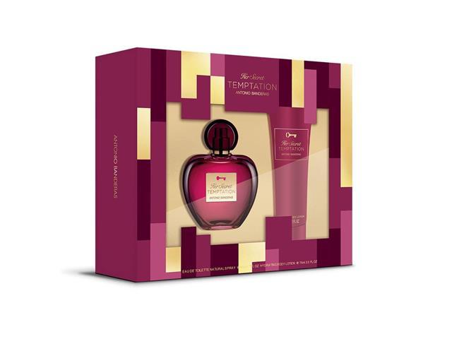 Kit Perfume Antonio Banderas Her Secret Temptation EDT + Hidratante