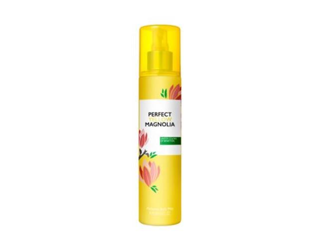 Body Mist Benetton Perfect Yellow Magnolia Feminino 236ML