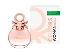 Perfume Benetton Colors Woman Rosé Eau de Toilette Feminino 50ML