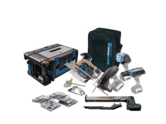 Maksipower 8 Maksiwa Multi função 8 em 1 Blue Edition